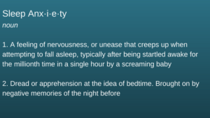 Sleep Anxiety
