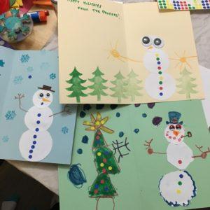 DIY Snowman Card