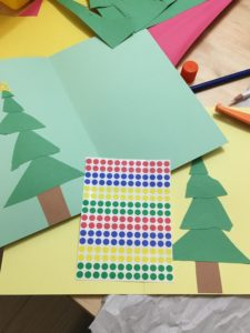 DIY Christmas Card steps