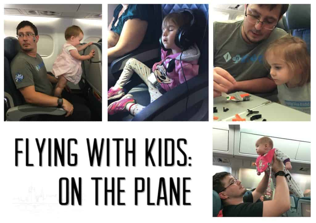 flying with kids on the plane