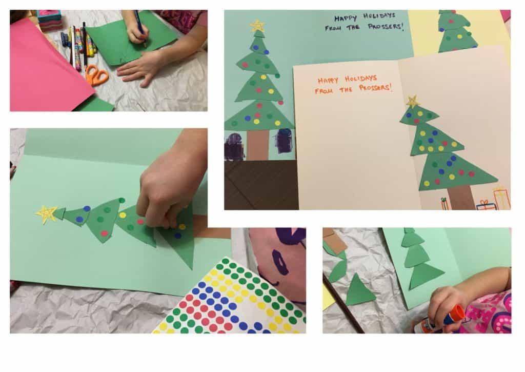 DIY Christmas Tree Card All