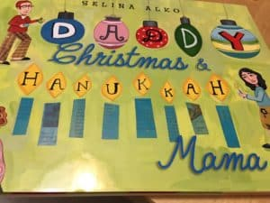 Daddy Christmas and Hanukkah Mama Book