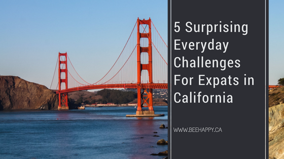 California challenges for Canadian expats