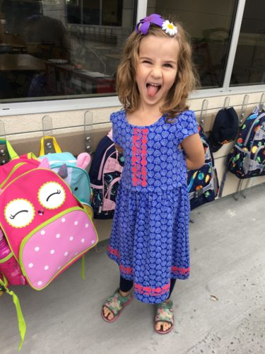 starting school and lessons from two weeks of kindergarten