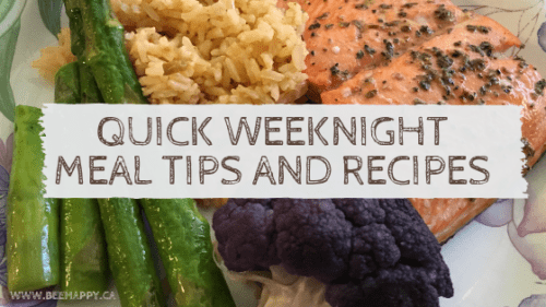 Tips for quick weeknight meals for busy families