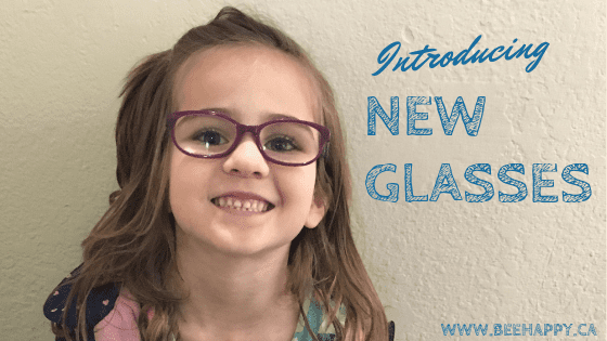 New Glasses for my Kinder